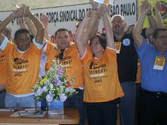 JOSÉ ANTONIO É ELEITO SECRETÁRIO DE RELAÇÕES SINDICAIS DA FORÇA SÃO PAULO