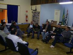 José Antonio e Carlão realizam plenária priparatória em Araraquara no Sindicato da Costrução Civil