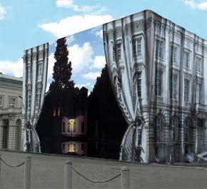 Técnica de la perspectiva en edificios. Trampantojo5