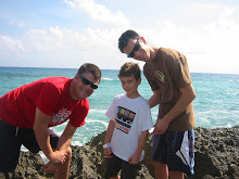 Ori, Adam and Darren On the Island of Cozomel, Mexico