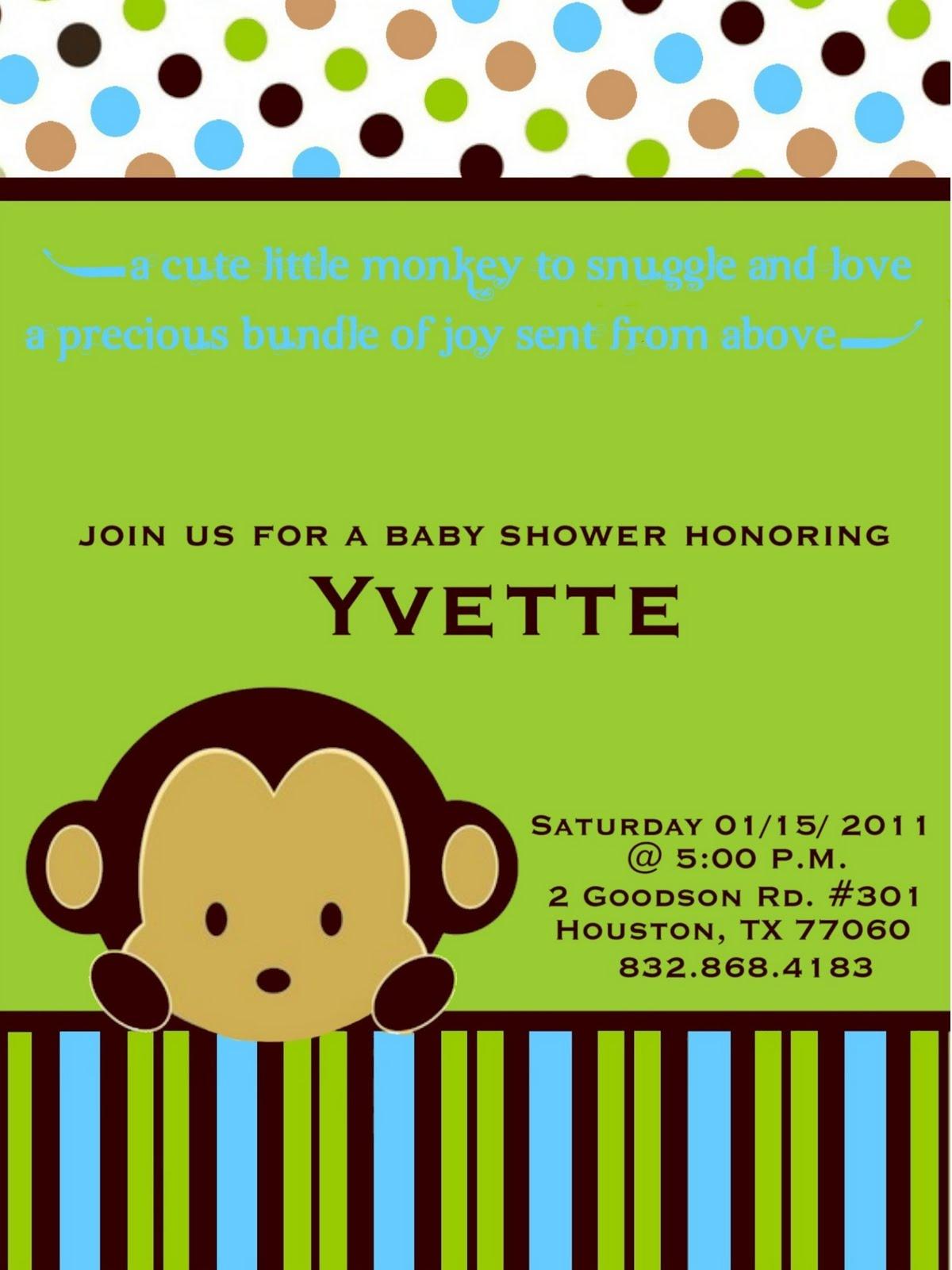 bellygusher: Yvette's baby shower