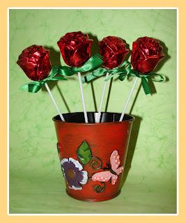 Rosas forradas