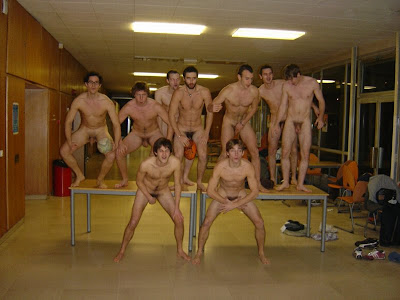 baseball team naked