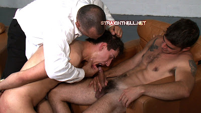 Straight Guy Forced To Suck