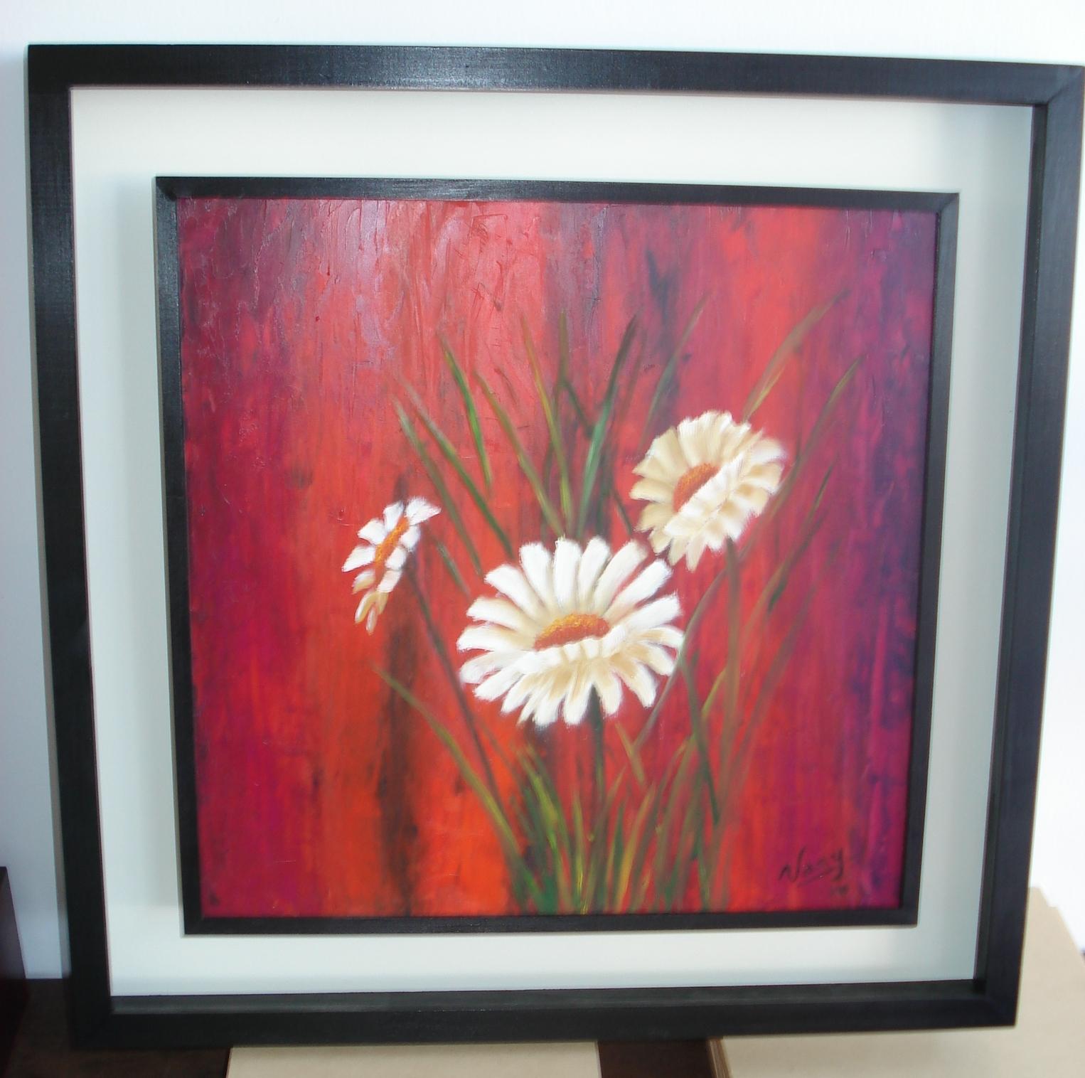 Cuadros de flores pintadas colores imagui - Ver cuadros modernos ...
