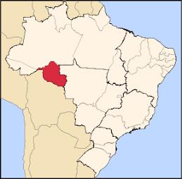 Rondônia fica aqui!