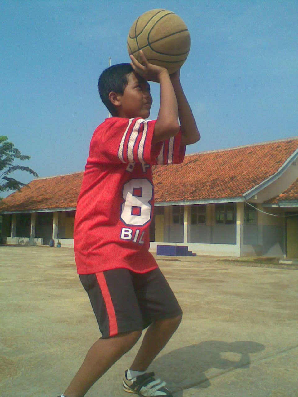 basket shoting