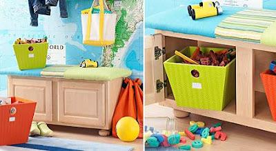 El taller de la abuela mueble infantil para guardar lo - Muebles para guardar juguetes ...