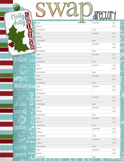 Printable Christmas Card List | quotes.lol-rofl.com