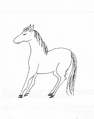 I used to draw this horse in large quantities in grade school.