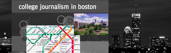college journalism in Boston