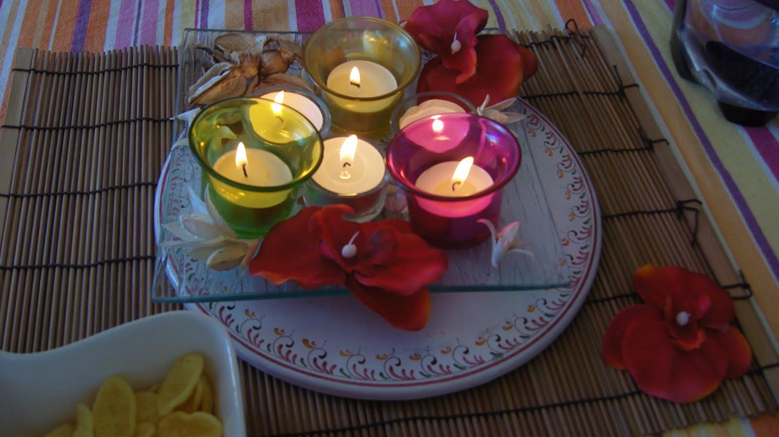 Dans la maison de s verine centre de table color for Centre de table de cuisine