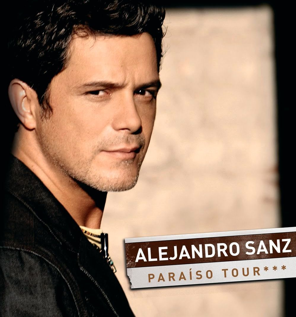 Alejandro Sanz brings his PARAISO TOUR back to South Florida! - alejandroSanz-ParaisoTour-2010