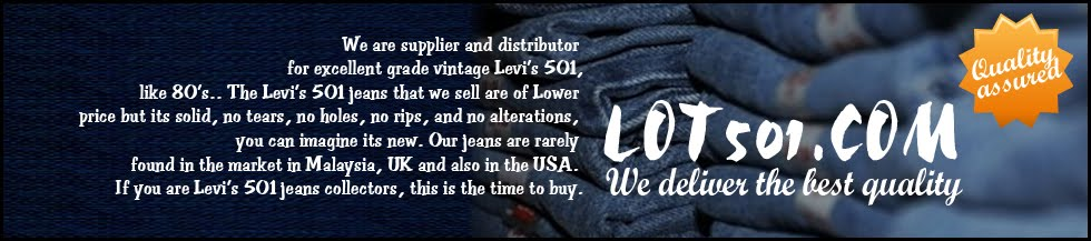 Lot501.com - Original Rare Jean Store