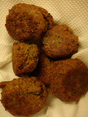 Libanese home-made falafel