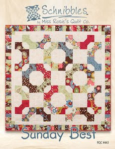 Sunday Best Schnibbles Quilt Pattern