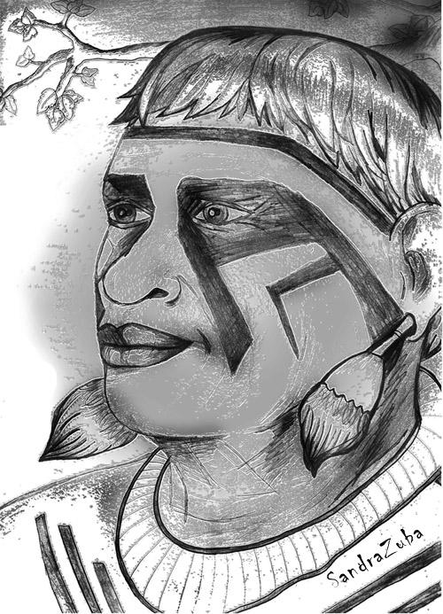 muitas vezes desenho de indio brasileiro ox48 ivango