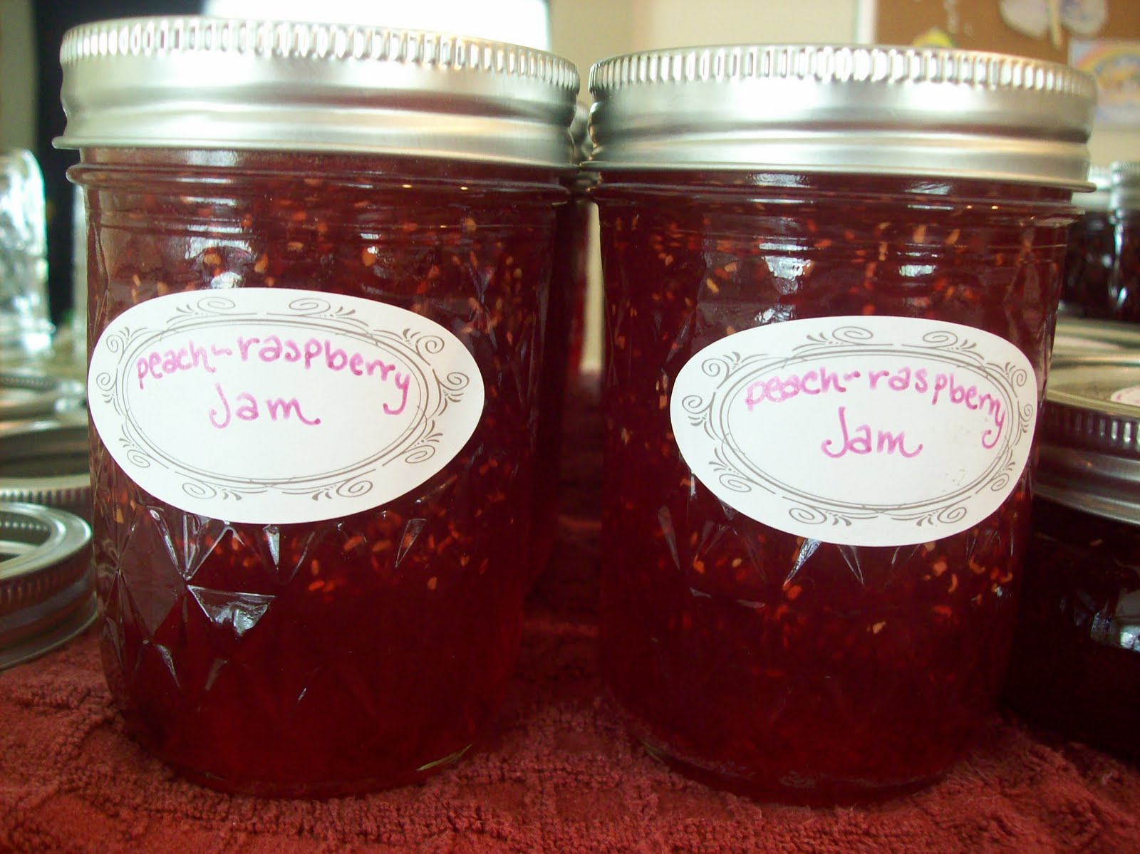 Seven sisters life 39 s a peach for How long to sterilize canning jars