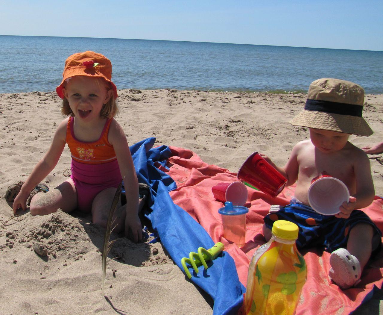 Kids On Beaches