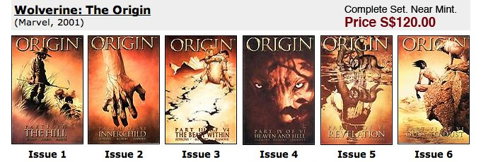 Wolverine: The Origin #1-6