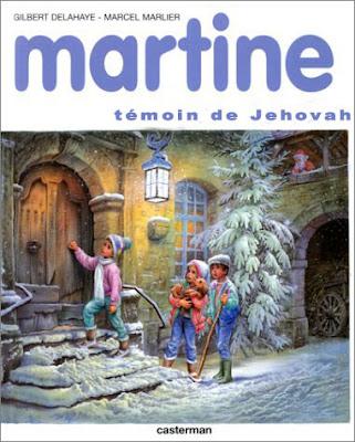 Martine témoin de Jéovah