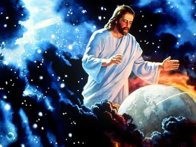 Jésus façonnant le monde
