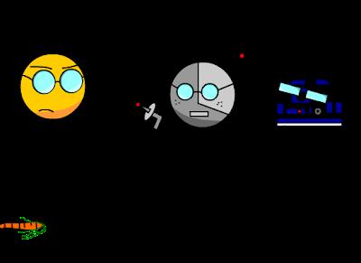 Paul Binocle contre les robots de l'espace