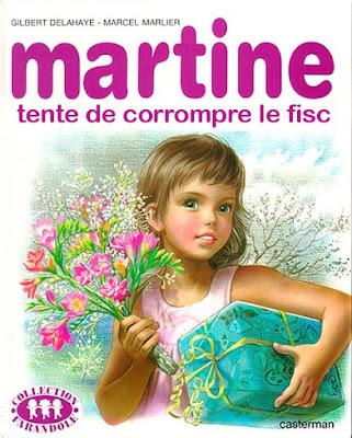 Couverture Martine détournée