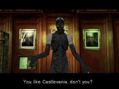 Psycho Mantis Castlevania