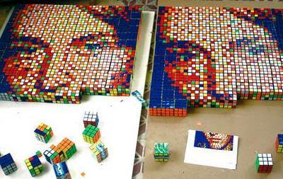 Rubik's face