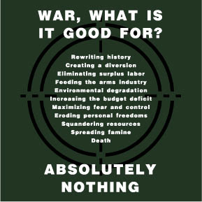 War, what is it good for