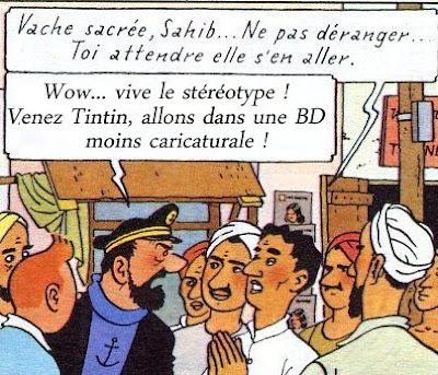 Tintin raciste