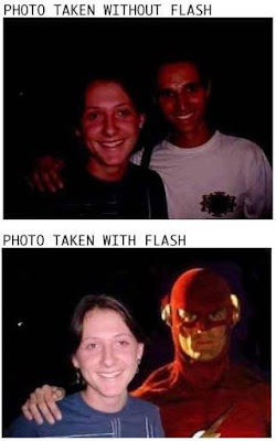 With Flash