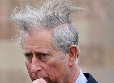Prince Charles décoiffé