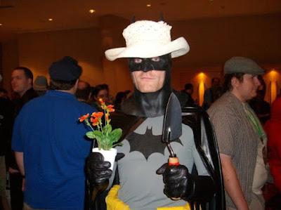 Batman jardinier