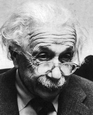 Einstein à lunettes