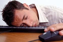 Endormi clavier