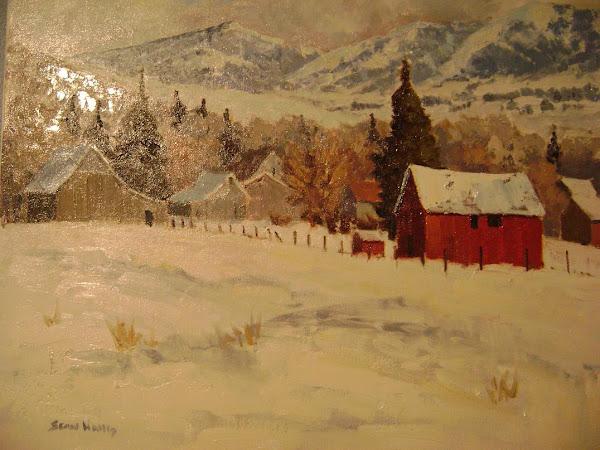 Richmond Winter Barn
