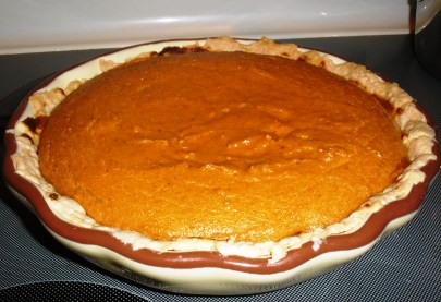 ... of an Italian Cook: Pumpkin-Mascarpone Pie, An Award and Thanks