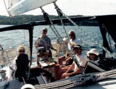 Balia under sail