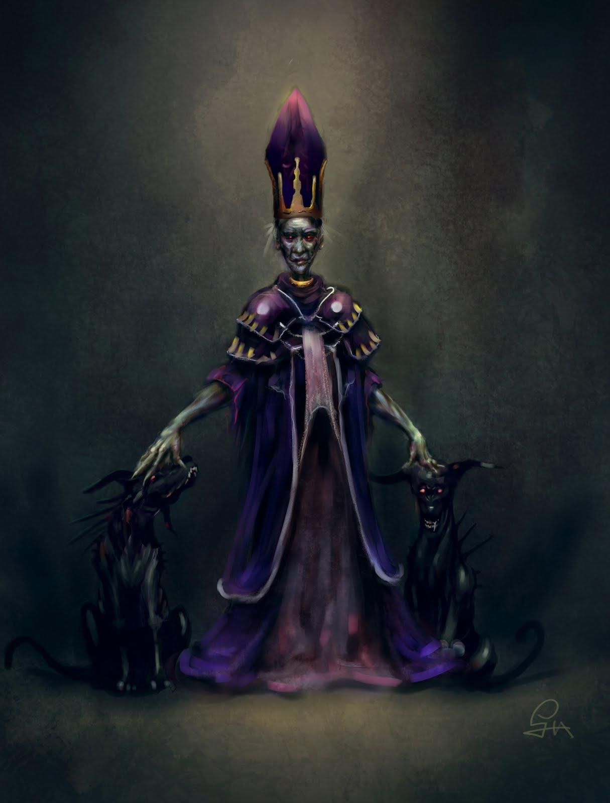 Lijen huang dark wizard