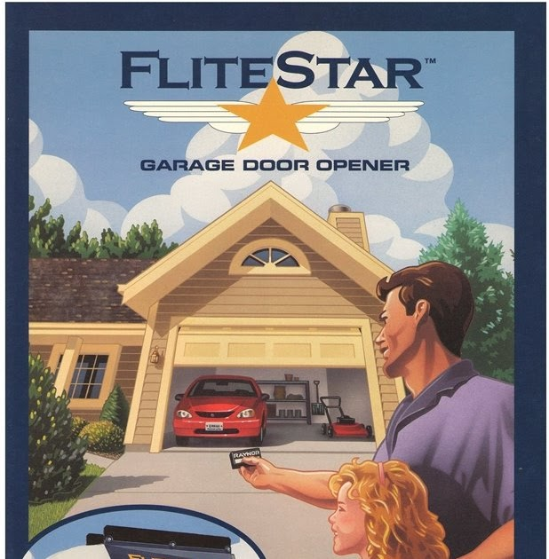 Garage door zone blog raynor flitestar opener parts for Door zone garage doors
