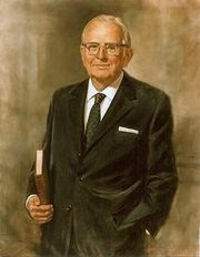 Norman Vincent Peale, portrait