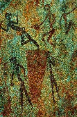 Bushmen Rockpainting in Zimbabwe