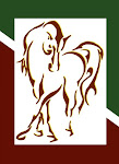 Gilda, our really neat logo. I think Doug, my husband, really captured me, my horses, and SFD well.