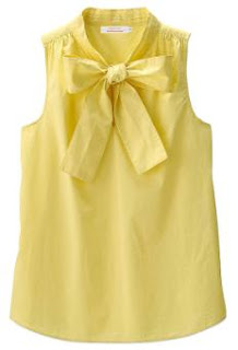 Steven Alan Sleeveless Ribbon Blouse
