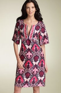 Phoebe Print Silk Dress