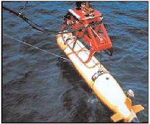 Robot explorador de oceánico