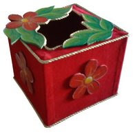 Tissue Box with exclusive detail
