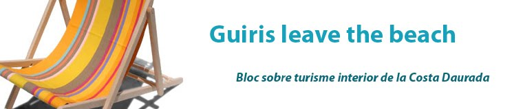 guiris leave the beach